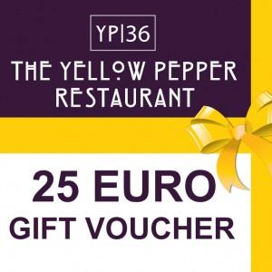 Yellow Pepper Restaurant - €25 Voucher
