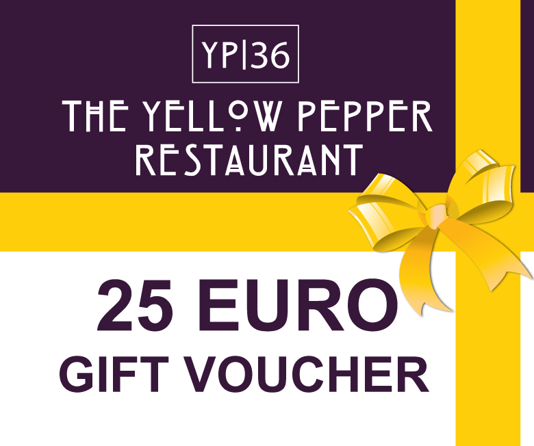 Yellow Pepper Restaurant - €25 Voucher